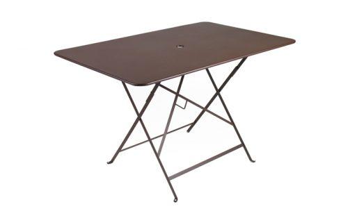 bistro table, rectangle, w117cm