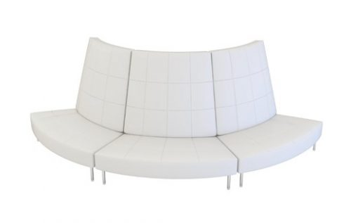 endless large sofa w/ small high back