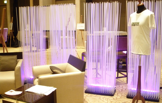 LED linear wall wash - event rentals