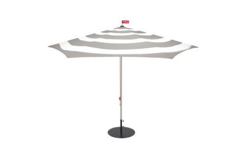 fatboy stripesol parasol with base grey
