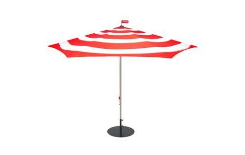 fatboy stripesol parasol with base red