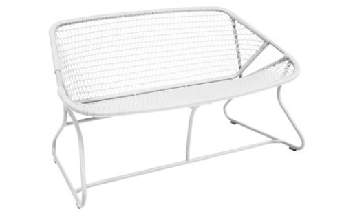 sixties low bench white