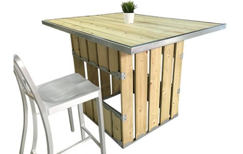 the crate high table