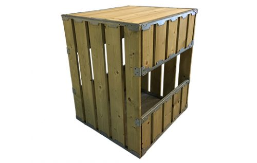 the crate high table cube