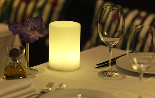 Cylindro Table Light Event Rentals
