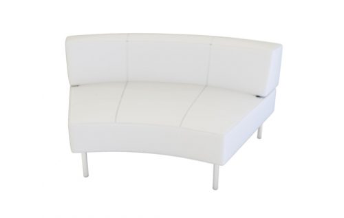 endless curved seat large back