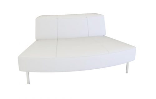 endless curved seat small back