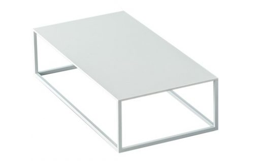 geo coffee table L – white