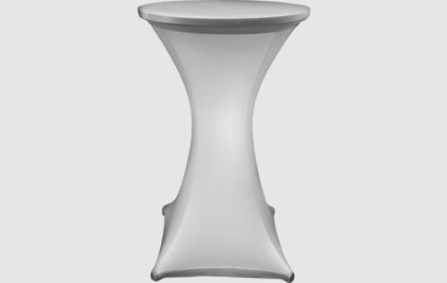lycra cocktail table with led light