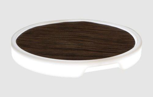 tron tray round