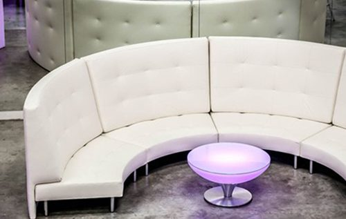 Endless Curved 3 4 Circle Sofa With