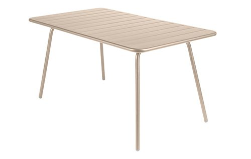 Luxembourg-table-80 x 143 cm legs -nutmeg